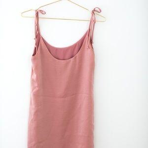 SOCIALITE Blush Pink Mini Shift Dress USA